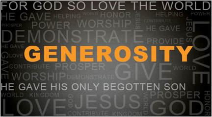 Christmas Eve Service – Gratitude & Generosity (see bonus video)