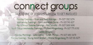 Click here for small group contact details
